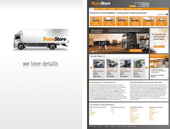 TruckStore Design